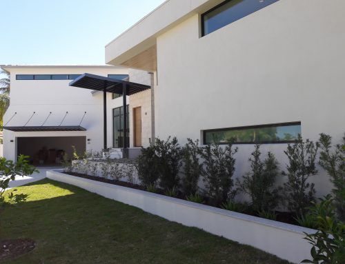 Sarasota Residential Window Tinting On Modern Home