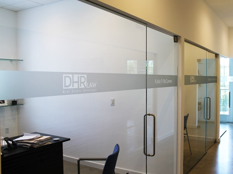 Decorative Window Film Frosted Film Sarasota Bradenton Venice