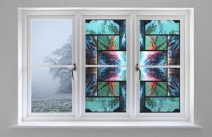 SXEG-4851 Stained Glass Alaska